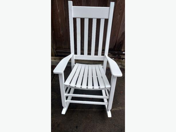 white ikea rocking chair central saanich