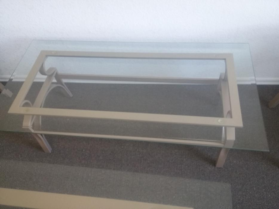 Set of beige tables 4 peices coffee table 2 side tables for Coffee tables kelowna