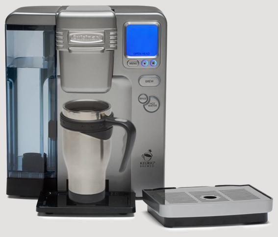 Cuisinart Ss 700 Coffee Maker K Cup And Small Filter
