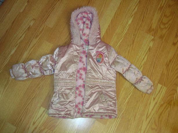 Like New Coat Winter Pink Down Disney Princess Size 5T - $5