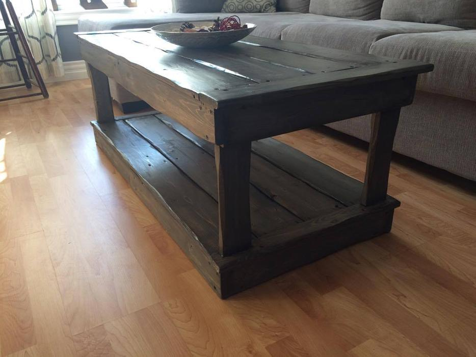 Rustic Coffee Table And End Tables Kensington Pei Mobile