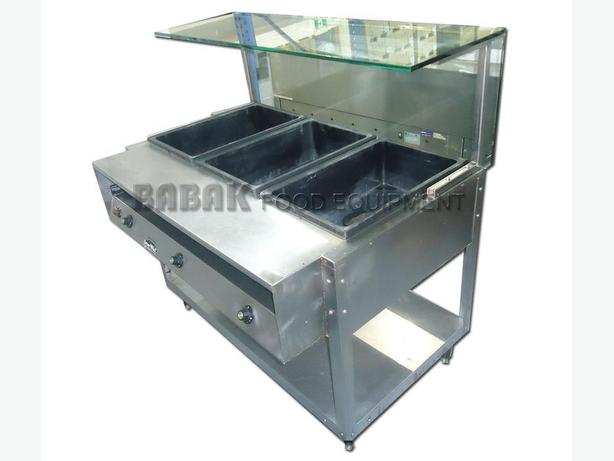 Vollrath steam table with sneeze guard burnaby incl new westminster vancouver - Sneeze guard for steam table ...