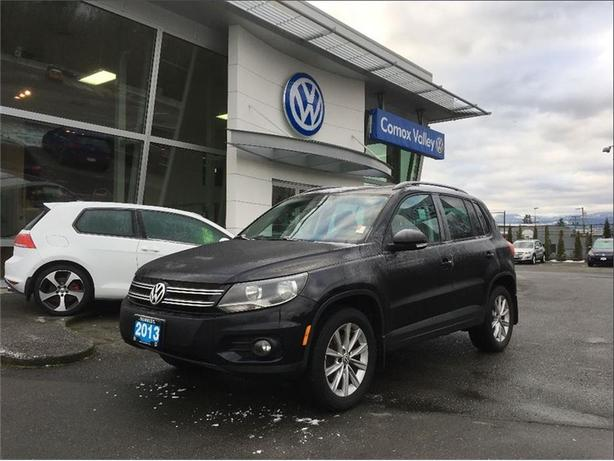 2013 volkswagen tiguan comfortline courtenay comox valley. Black Bedroom Furniture Sets. Home Design Ideas