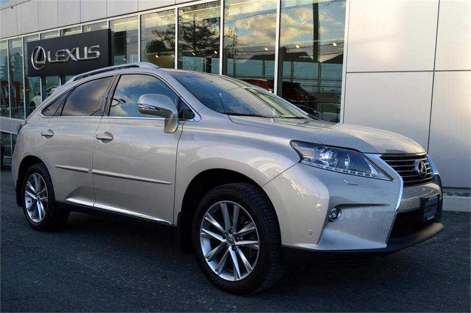 2015 Lexus Rx 350 Sportdesign Technology Pacakage Local