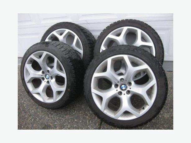 Set of OEM BMW X5 style 214 20 Inch Toyo Winter Package tires like new E70 Outside Victoria ...