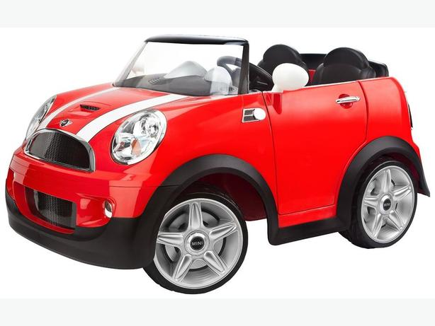 Kid Trax Mini Cooper S V Ride On Electric Car