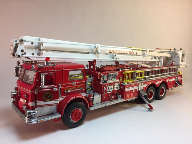 Used Trucks Nanaimo >> Franklin Mint - Pierce Snorkel Fire Engine 1:32 scale West Carleton, Ottawa - MOBILE