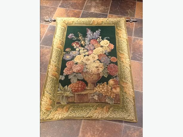 Decorative Wall Hanging Rods : Reduced beautiful tapestry wall hanging and decorative