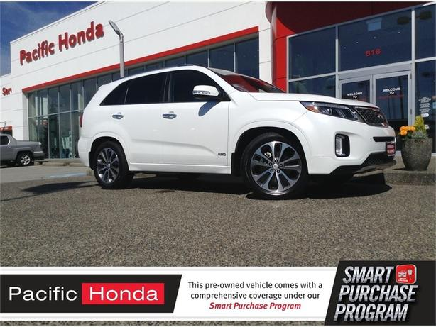 2014 Kia Sorento SX PERFECT 1 OWNER ZERO (0) CLAIMS