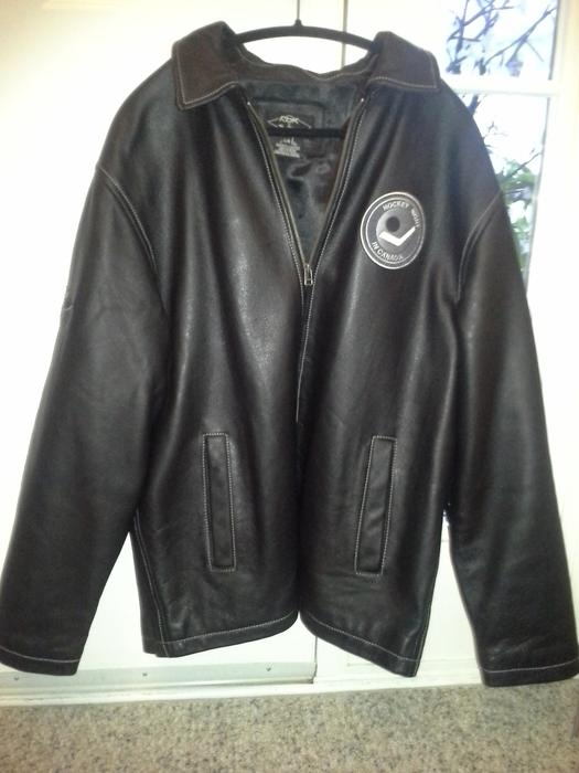Nhl leather jackets