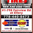 Tire Blow Out Sale+/- 1/2 price