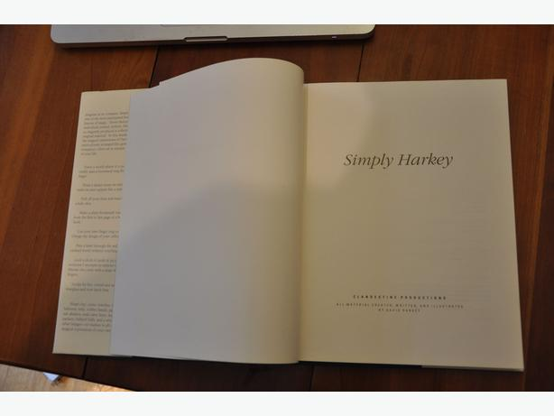 Simply Harkey (Very collectable book on Magic) Reduced