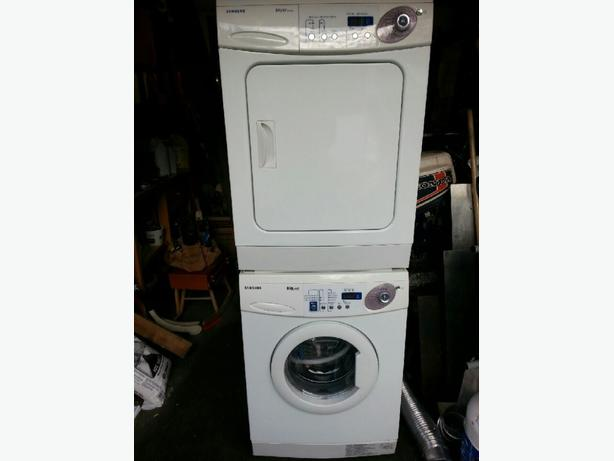 apartment size stackable washer/dryer Central Nanaimo, Nanaimo