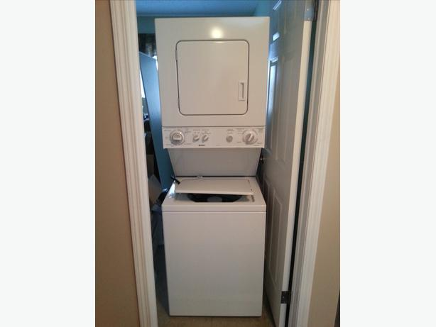 kenmore apartment size stacking washer dryer lake