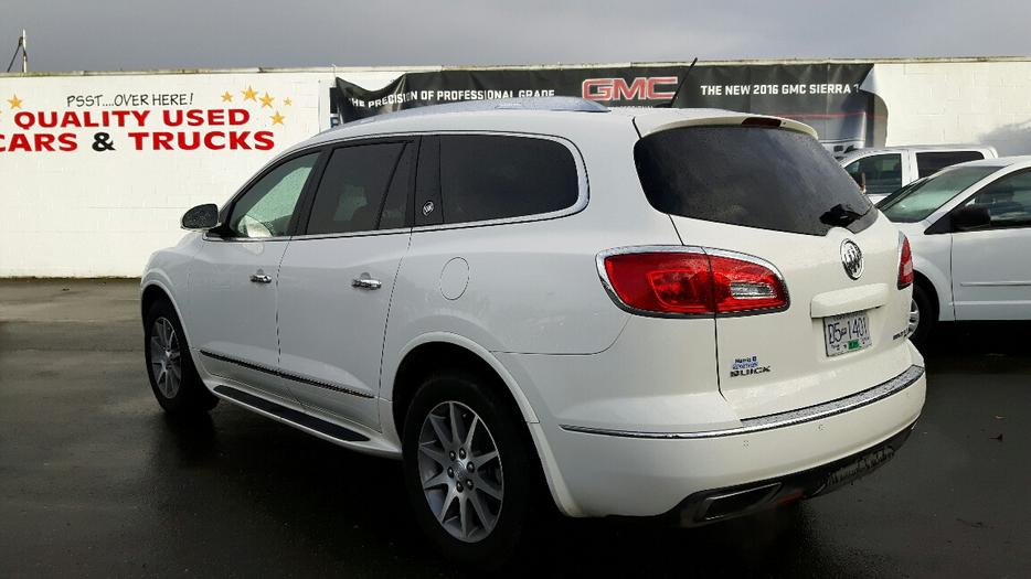 Used 2015 Buick Enclave Leather Awd For Sale In Parksville