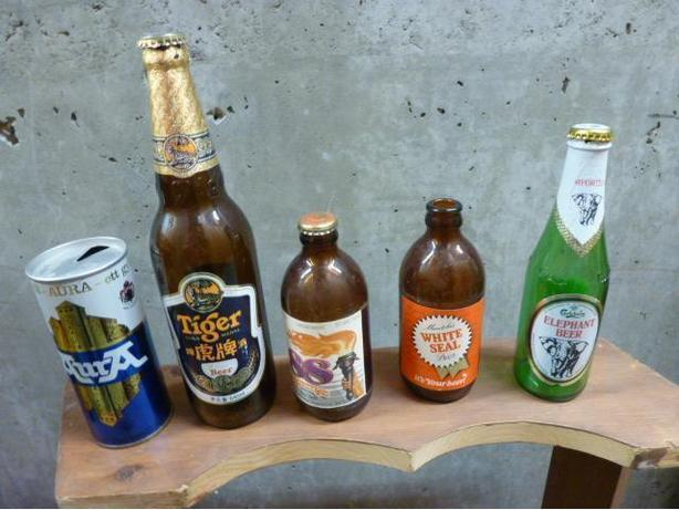 Beer Bottles and Cans