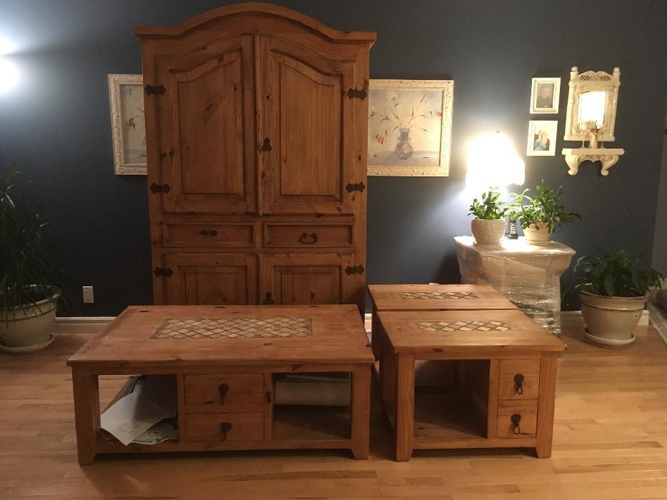 santa fe rustic pine furniture