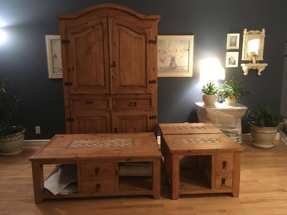 Santa Fe Rustic Pine Furniture North Regina Regina