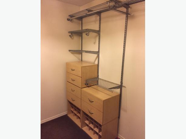 closet storage system saanich