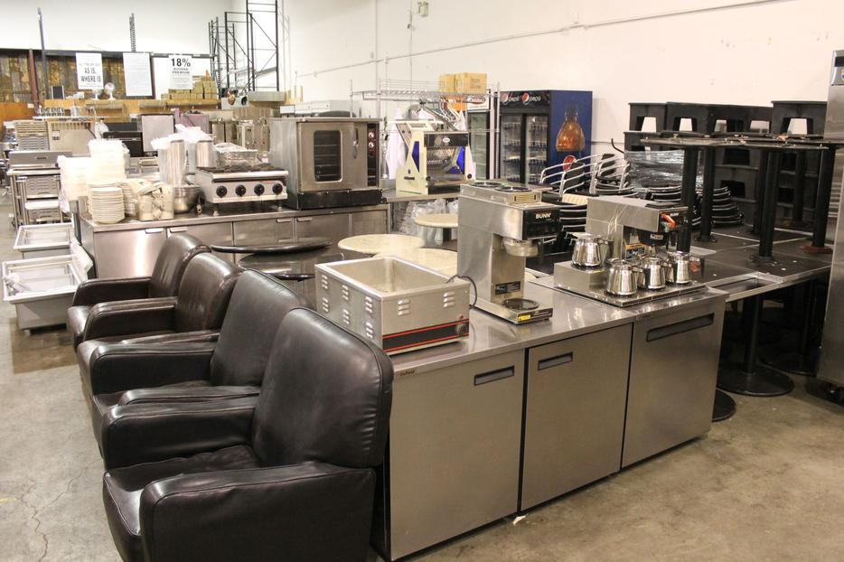 Mortons steakhouse furniture auction outside comox valley