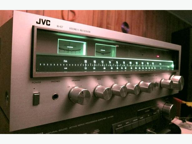 CLASSIC JVC R-S7 STEREO RECEIVER AMPLIFIER *AMAZING SOUND QUALITY*