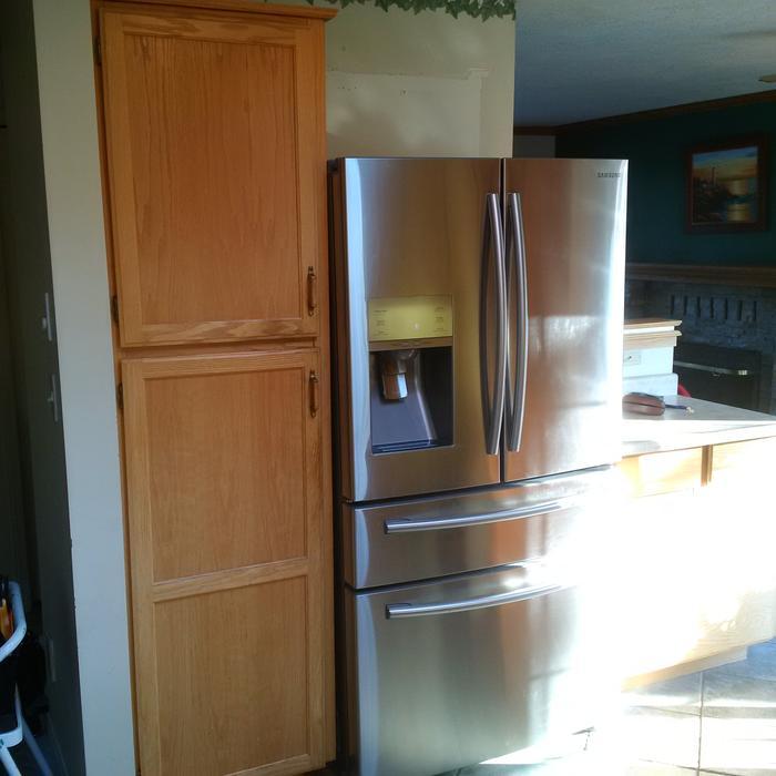 Used Kitchen Cabinets Houston: OAK SHAKER CABINETS C/W COUNTERTOP Saanich, Victoria