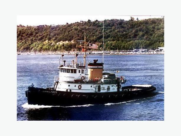 Coastal Tug Boat - Former Large Army Tug -Relief