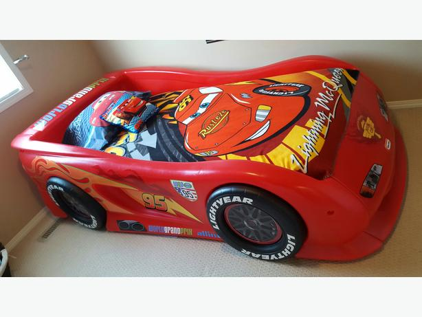 Lightning Mcqueen Twin Car Bed Amp Mattress East Regina Regina