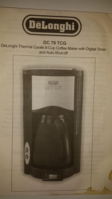 DeLonghi Thermal Carafe 8-cup Coffee Maker with Digital Timer and Auto Shut-off Victoria City ...