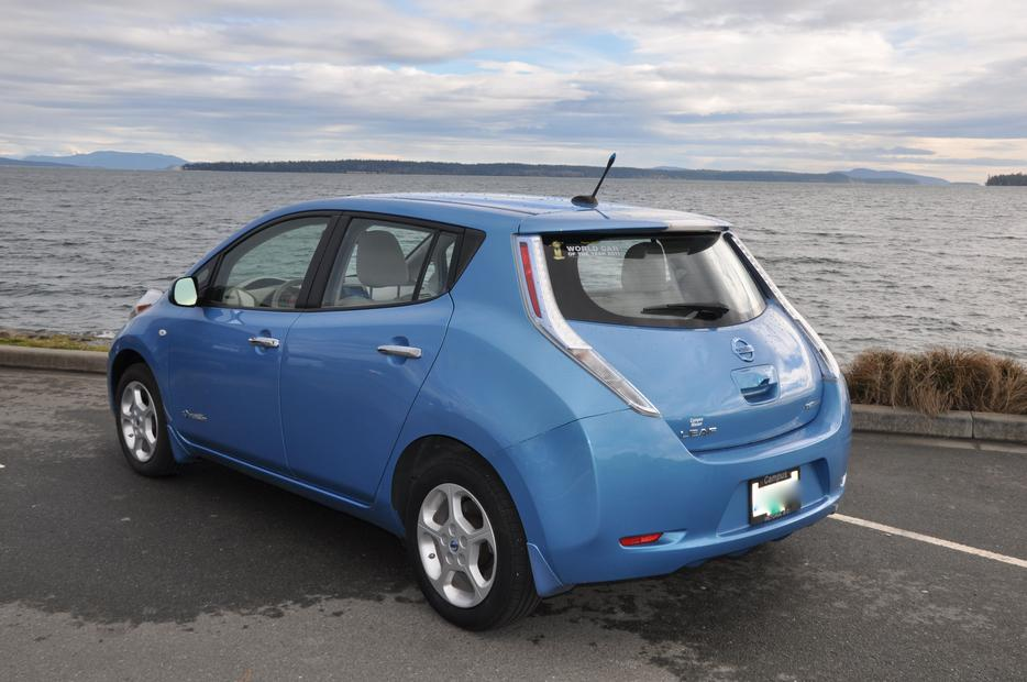2012 Nissan Leaf Sl 1 Owner No Accidents Fully Loaded