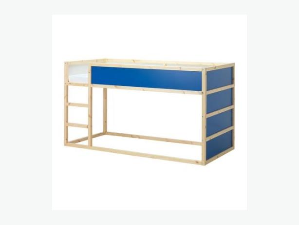 Ikea kids bed frame with ladder central saanich victoria mobile - Ikea kids bed frames ...