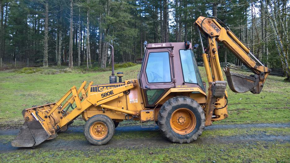 1985 case backhoe 580e extend a hoe construction king for Avis e case construction