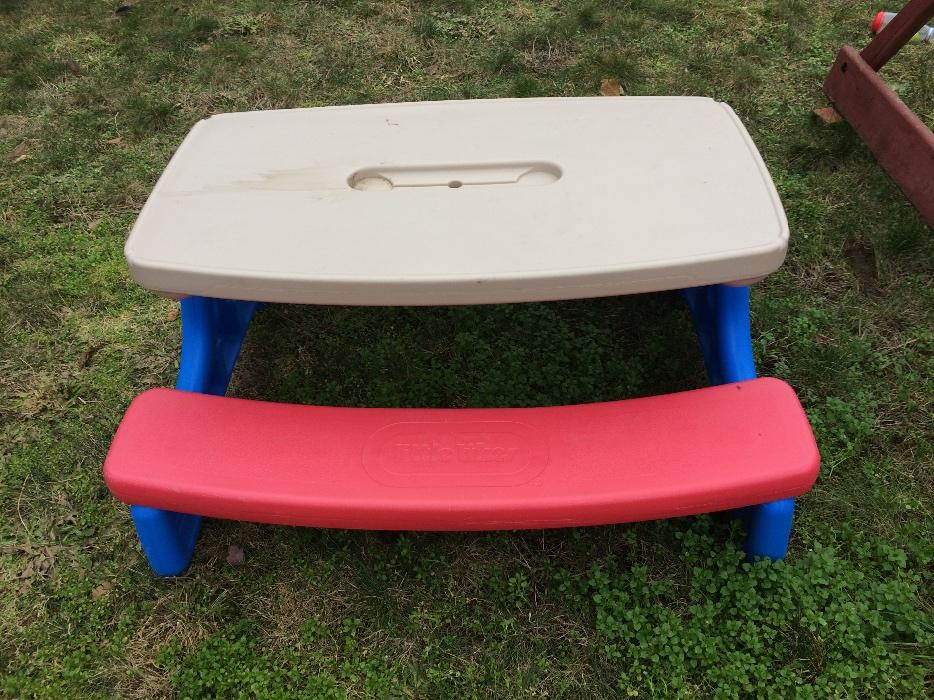 Large Little Tikes Picnic Table Sooke Victoria