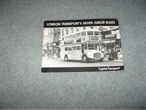 Railway puzzle book & London Transport's Silver Jubilee Buses