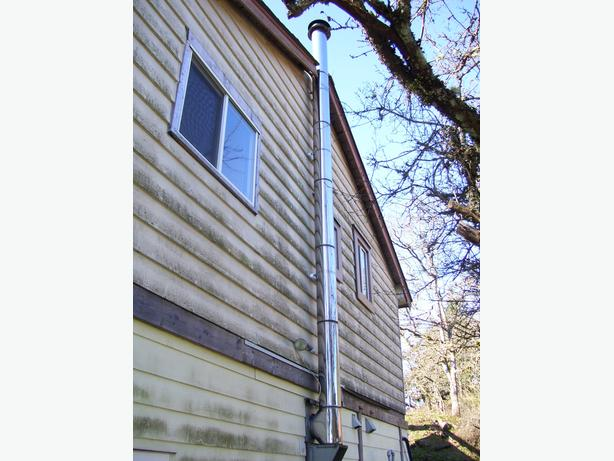 Insulated Class A Stainless Chimney Pipe Kit Saanich