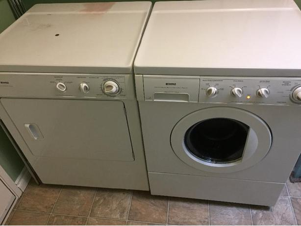 Kenmore Stackable Washer And Dryer Central Saanich Victoria
