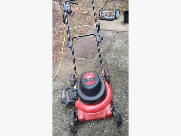 Mtd Electric Lawn Mower : Electric lawn mower sooke victoria