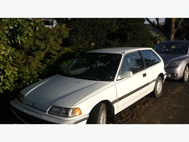 1990 Honda Civic Hatchback DX