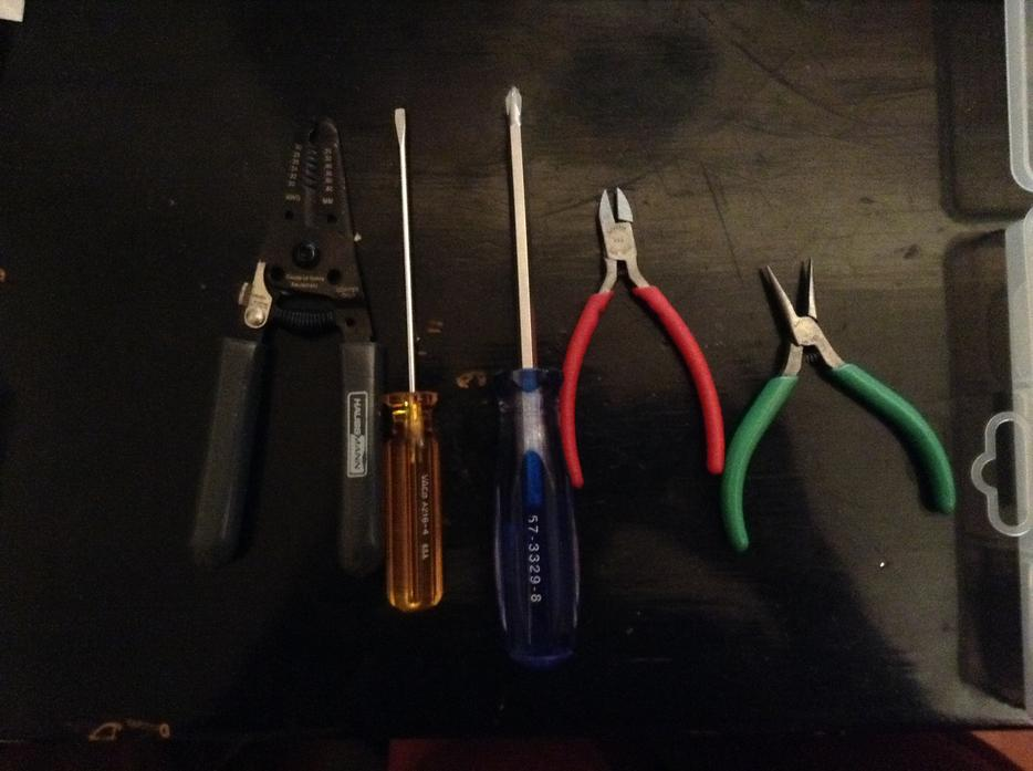 Arduino clone kit and tools for electrical engineering