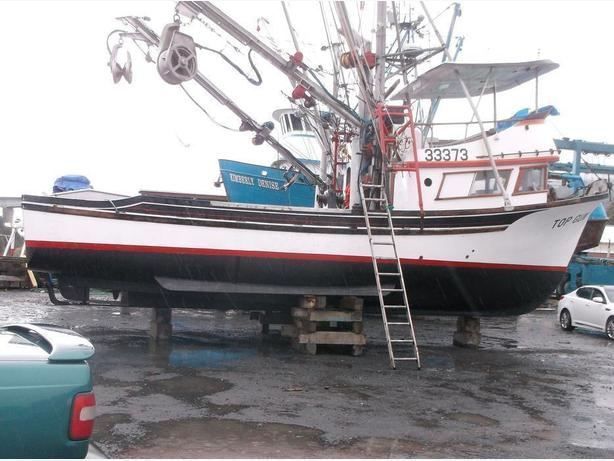 Commercial Fishing Boat - Seine Fishing Alaska  Delta/LeClerq- Top Gun