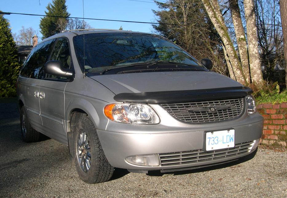 2001 Chrysler Town Amp Country Limited Awd Central Saanich