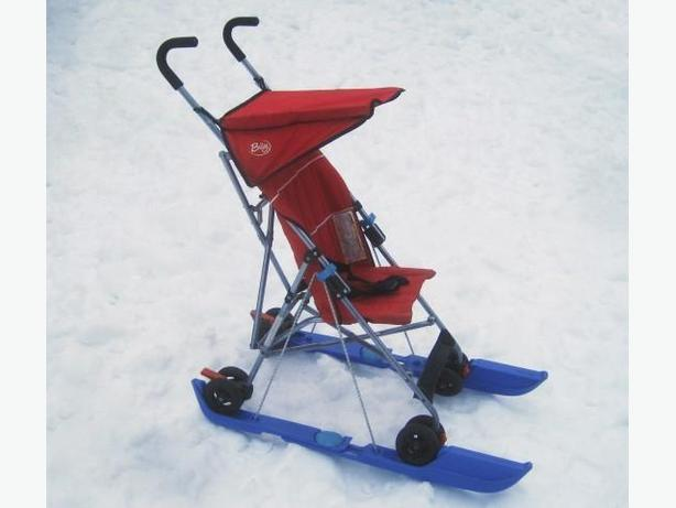 Skis for Stroller or Pram