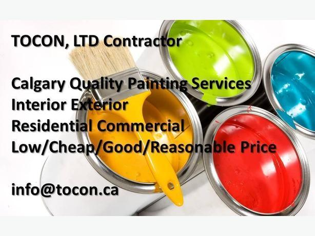 TOCON.ca QUALITY PAINTING SERVICES. FREE estimate!