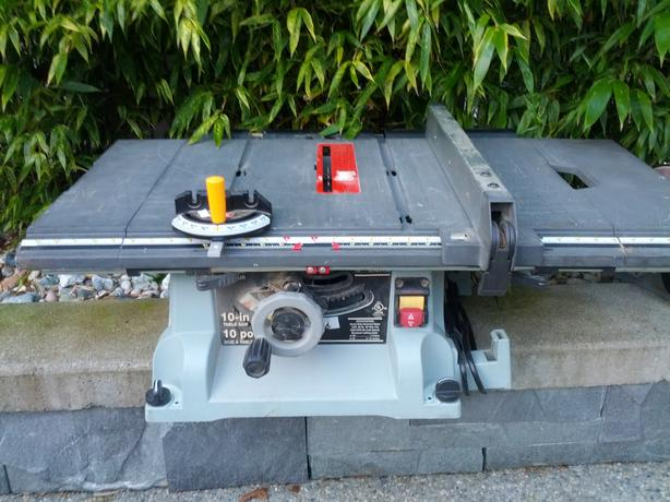 Craftman 10 Quot Table Saw Marlow Bench Grider Wire Wheel