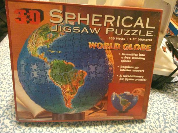 OBO Unique Earth 3D Globe Puzzle
