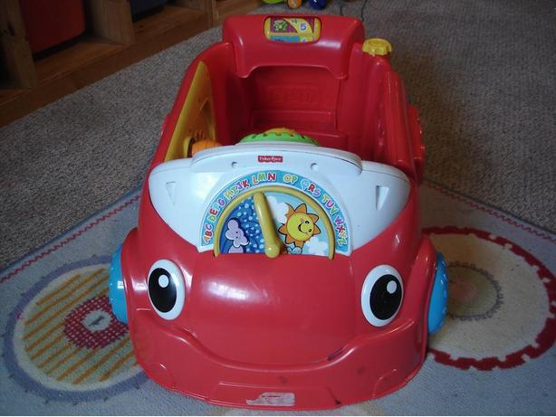 Used Fisher Price Laugh Learn Crawl Around Car