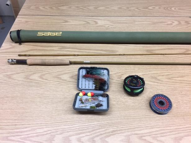 Fly fishing gear great beginner package 500 obo cobble for Fly fishing rods for beginners