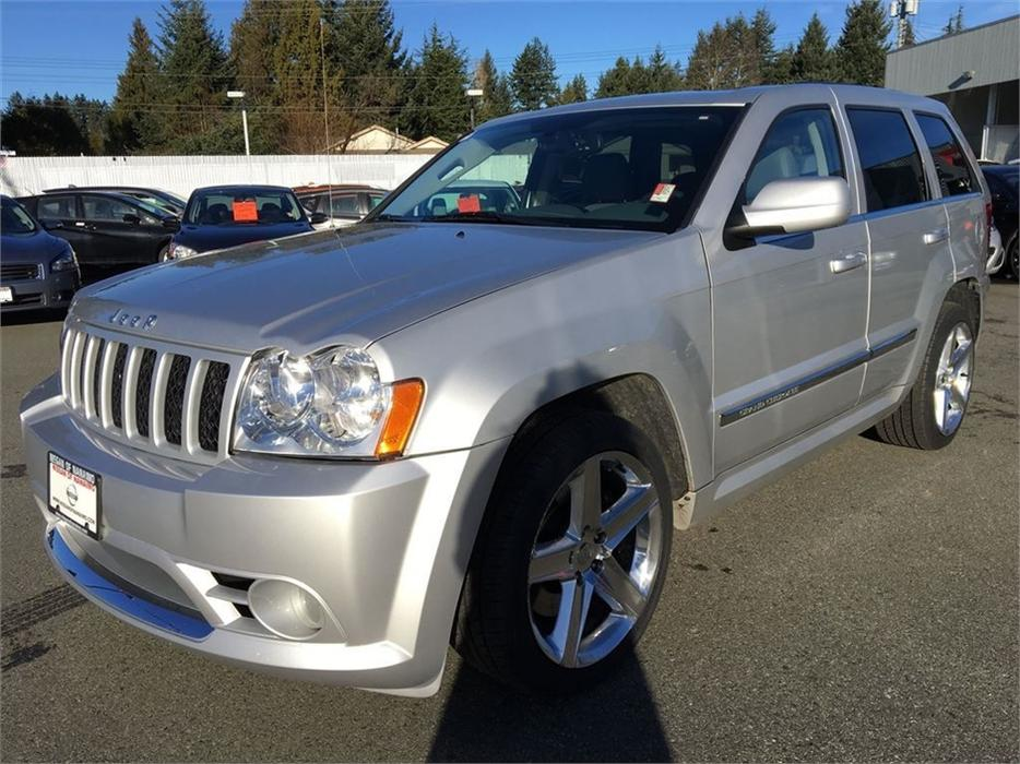 2007 jeep grand cherokee srt8 outside comox valley campbell river. Black Bedroom Furniture Sets. Home Design Ideas
