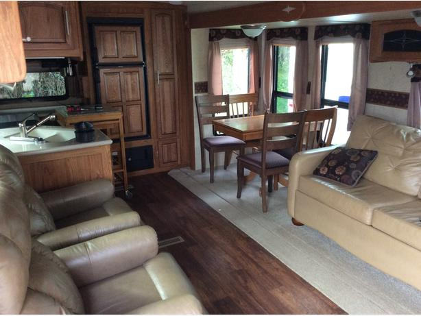 Beautiful 36.5 flagstaff trailer for rent