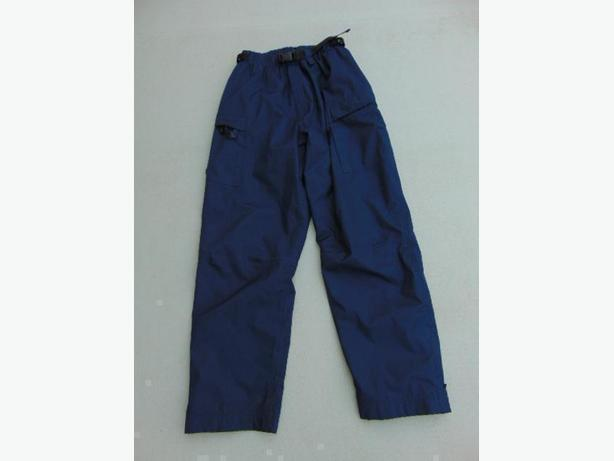 Rain Pants Men's Size Medium Wetskins Navy